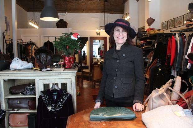 Owner Deb Spyer opened a consignment store at 925 S. Loomis St. in November.