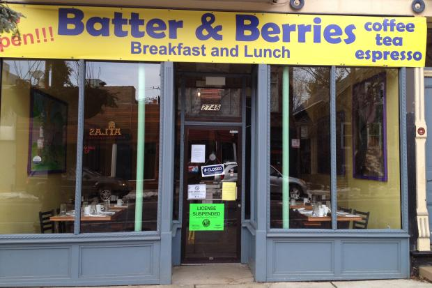 Batter & Berries was shut down Jan. 9 due to burst pipes and hopes to reopen Wednesday.