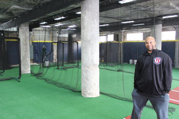 The B.I.G. Baseball batting cages officially open on Friday after school.