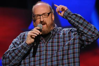 Brian Posehn performs at UP Comedy Club this week.