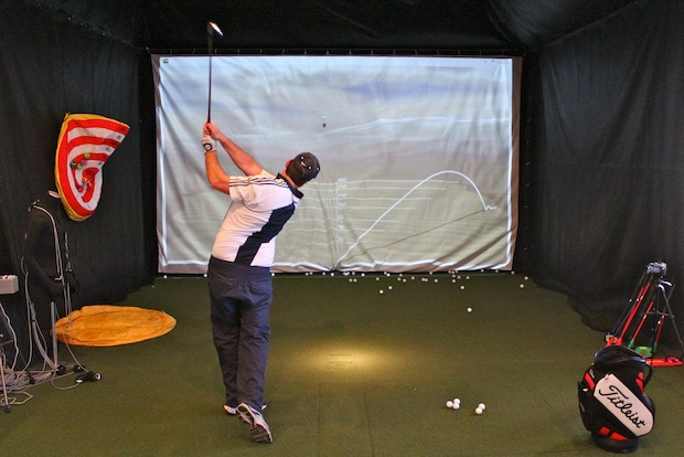 The Catalyst Golf Performance indoor golf center features virtual golf simulation and pro-level instruction.