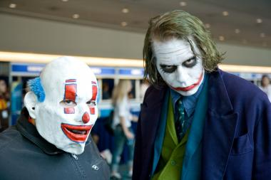 Cosplayers at a 2009 sci-fi convention in San Diego.
