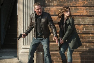 "Sgt. Hank Voight (Jason Beghe) and Detective Erin Lindsay (Sophia Bush) are two main characters in the new cop drama ""Chicago PD."""