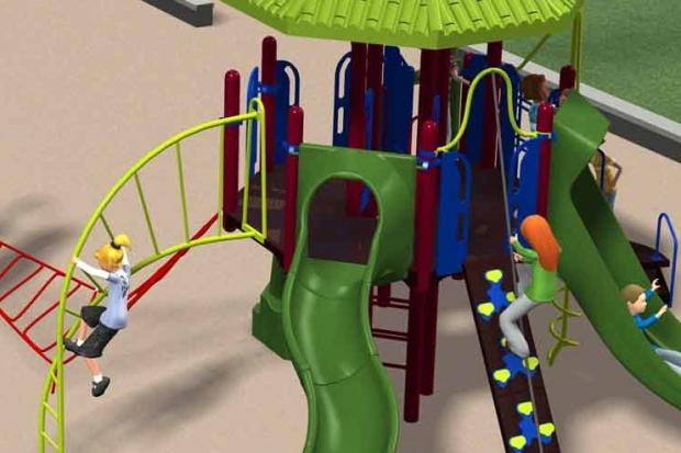 The park advisory council hopes the playground renovation will attract more families to the park.