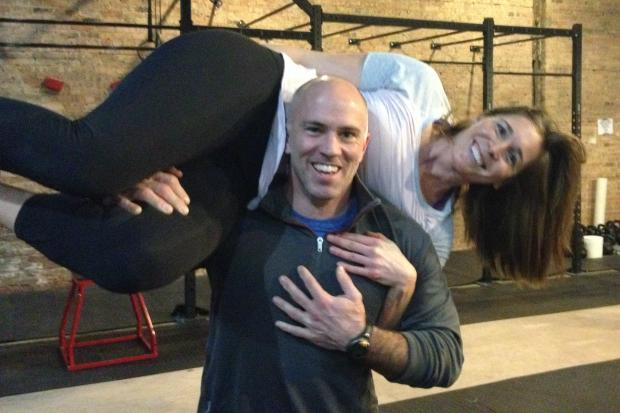 CrossFit CE is a new gym in East Village owned by a pair of Francis W. Parker head coaches, Holly Palin and Neil Curran. The gym opened earlier this year.