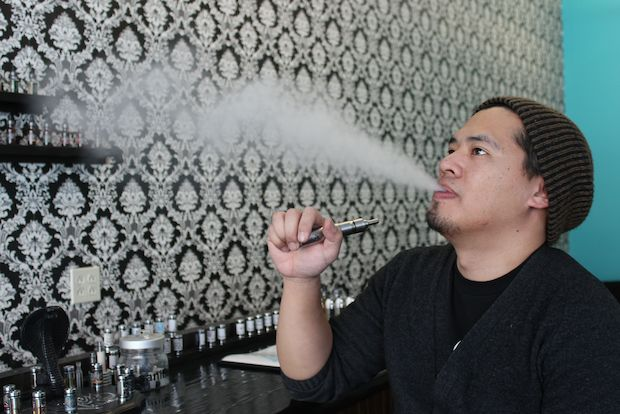 There's three vape shops in Wicker Park.