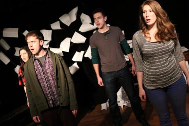 """Edges,"" presented by Circle Theatre, plays at Chicago Actors Studio through March 2."