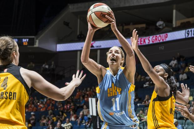 Chicago Sky superstar Elena Delle Donne will host a basketball clinic for about 100 Special Olympics Chicago athletes on Thursday at Loyola Park.