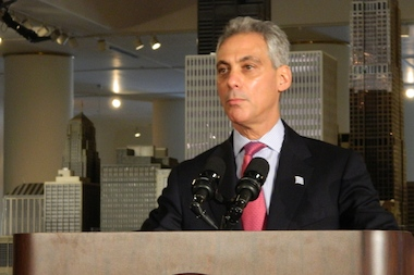 Mayor Rahm Emanuel announced on Wednesday a goal of 55 million annual tourists by 2020.