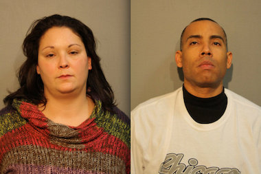Kathryn Hinojosa and Vincent Ramirez are accused of a Christmas Day attack on a man in South Chicago that left him unconscious and in need of surgery.