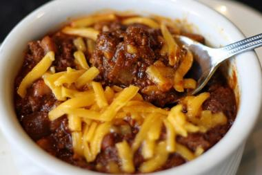 DMK Burger Bar, 2954 N. Sheffield Ave., is offering free chili Monday.