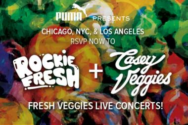 Rockie Fresh and Casey Veggies team up for a show at Lincoln Hall