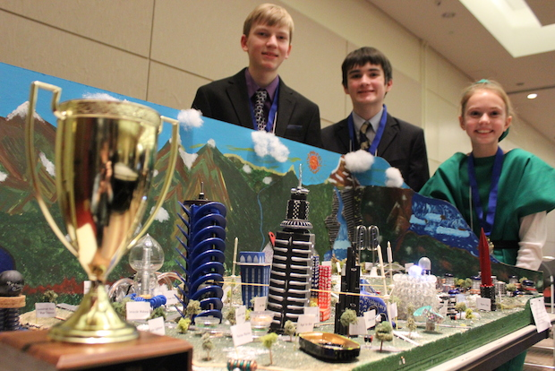 Sixth, seventh and eighth graders from the Chicago area met Saturday for the 21st annual Future City Competition.