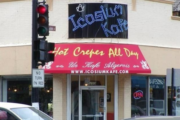 The Algerian creperie had been open for eight years before closing at the end of December.