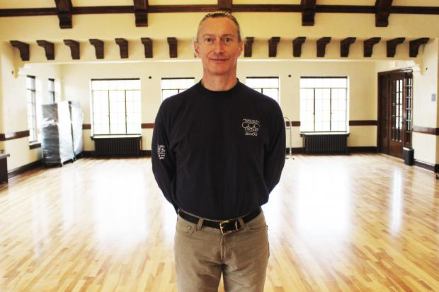Park supervisor Phil Martini had been waiting nearly two years to move back into the burned field house.