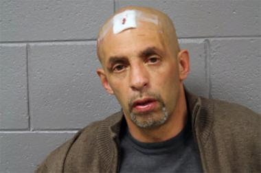 Johnny Mejias, 50, of the 3500 block of West McLean Avenue, was charged with a residential burglary felony and is due in court Saturday. He was also charged with two misdemeanors: criminal damage to property and resisting or obstructing an officer.