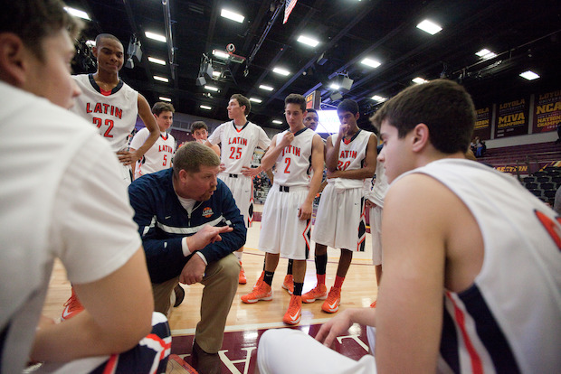 Latin School of Chicago basketball coach Dave VanderMeulen won his 300th game on Dec. 13.