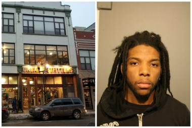 Lawrence Davison, 23, of the 7000 block of South Maplewood Ave., was caught by cops after allegedly stealing sweatpants from Urban Outfitters in Wicker Park.