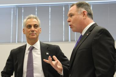 Mayor Rahm Emanuel and Police Supt. Garry McCarthy repeated their calls for increased gun control, in spite of another adverse court ruling this week.