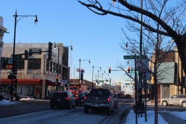 A proposal to reduce the number of traffic lanes along Milwaukee Avenue to build protected bike lanes between Lawrence and Elston avenues has created controversy.