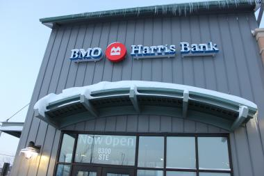BMO Harris Bank opened a branch in the West Chatham neighborhood on Dec. 30.