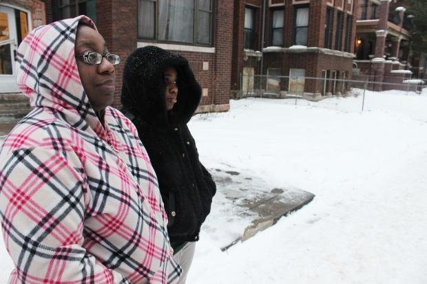 Ald. Joe Moore said he reported building violations at the North Shore Avenue apartment complex.