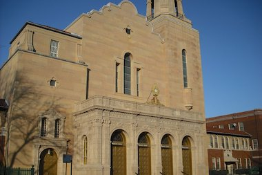 Our Lady of Victory, 4434 N. Laramie.