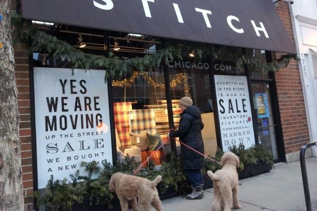 Stitch is closing and relocating from 1723 N. Damen Ave. to 1937 N. Damen Ave.