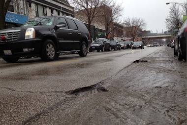 The city unveiled an online tracker that shows where city crews have patched potholes over the preceding seven days.