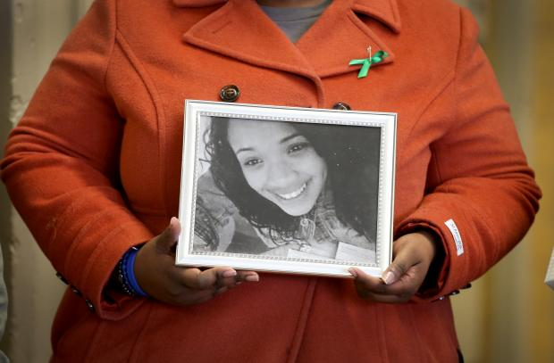 A private memorial ceremony will be held at King College Prep for slain teenger Hadiya Pendleton on Jan. 29, 2014 marking her one year anniversary death.