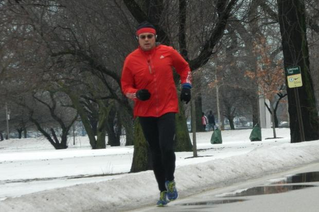 Runners took back the Lakefront Saturday after suspending runs due to the cold temperatures this week.