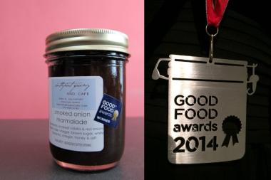 Southport Grocery's smoked onion marmalade won a Good Food Award in 2014.