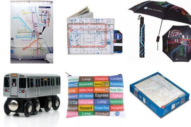 Top items on CTAGifts.com include shower curtains, wallets, umbrellas, wooden trains, cosmetic bags and puzzles, according to Lambrini Lukidis, an agency spokeswoman.