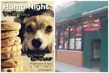 Wednesday night options include a show at Apollo Theatre (l.) and trivia at Crossroads Public House.