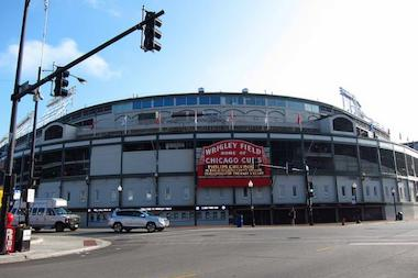 The Wrigley Field annual community meeting on Tuesday has been canceled due to extreme weather.
