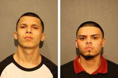 Andres Guerra (l.) and Martin Miranda (r.), both 19, were charged with first-degree murder.