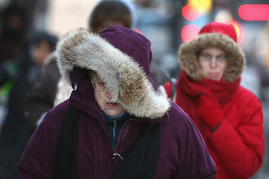 The National Weather Service predicts the 2013-2014 winter will rank as among the three coldest ever recorded in Chicago.