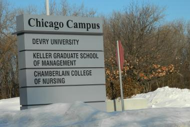 "After an undisclosed ""security issue"" shut down DeVry University's Chicago campuses Monday, the school announced it would reopen on Tuesday."