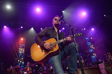 Eric Church will be at Joe's Bar in Lincoln Park Thursday. Here, Church performs a January 2014 show in Atlanta.