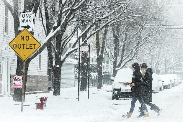 Chicago could see as many as 8 more inches of snow on Feb. 1.