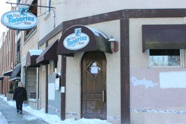 Come summer, the shuttered Glunz Bavarian Haus will be transformed into Little Fort Tavern.