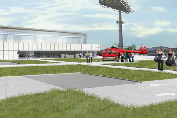The tour company behind a proposed Bridgeport heliport said the project would be a boost to the local economy, but some neighbors aren't sold by the plan.