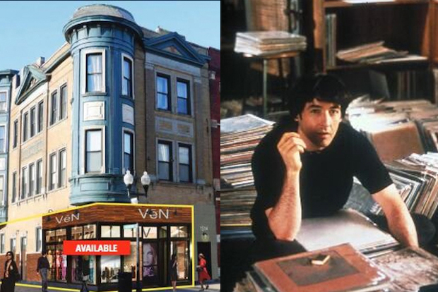 "The retail storefront at 1514 N. Milwaukee Ave. in Wicker Park was sold for $1.4 million on Feb. 7, according to county records. The space served as the exterior of ""Championship Vinyl,"" a fictional record shop in the ""High Fidelity"" movie."