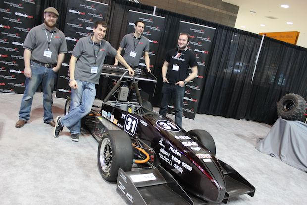 The school's engineering team is at the forefront of racing's electric revolution.