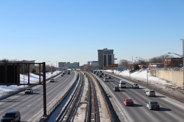 The $43 million project is needed to relieve major congestion on the Kennedy, state officials said.