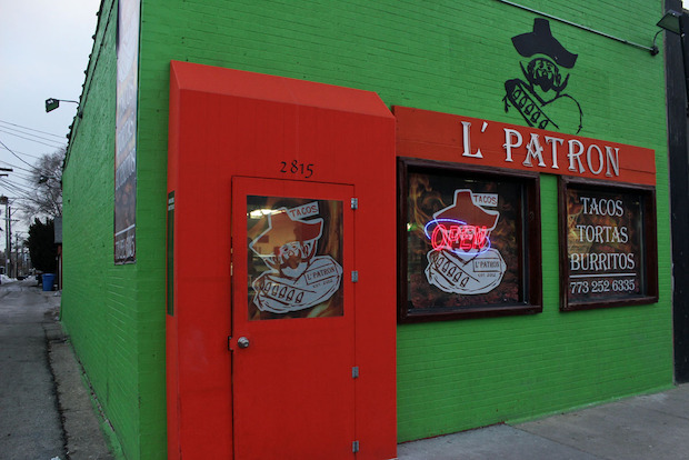 Popular Logan Square taco stand L'Patron is expanding into the building next door.