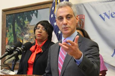 Mayor Rahm Emanuel is offering up a resolution on the minimum wage.