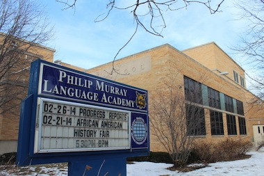 The Murray Language Academy local school council on Wednesday was expected to vote on moving the start and end time of the school day back 15 minutes next year.