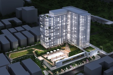 A rendering of JDL's proposed development.