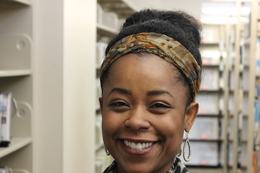 Sonya Harper, a community activist who lives in Englewood, will moderate a storytelling series Thursday at Kusanya Cafe.